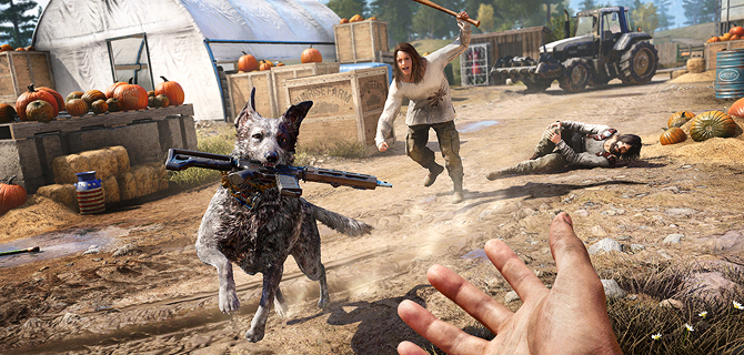 Testicle Festival and roadkill inspired Far Cry 5
