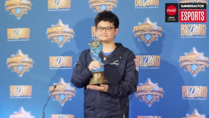 Hearthstone World Championship - The 2018 world champion tom60229 Press Conference